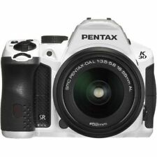 Near Mint! Pentax K-30 with DAL 18-55mm AL White - 1 year warranty