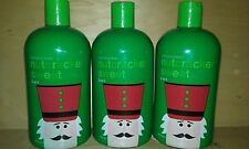 3x BATH and & BODY WORKS PISTACHIO NUTCRACKER SWEET 3-IN-1 BUBBLE SHAMPOO SOAP 3