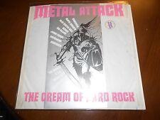 METAL ATTACK THE CREAM OF HARD ROCK VINYL LP IMPORT