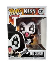 Funko Pop The Demon 121 Kiss Rocks Adult Collectible Rock Band Vinyl Figure New