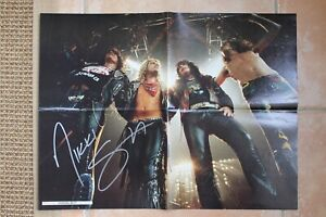 Nikki Sixx Signed Motley Crue 16x22 Magazine Photo Poster Autographed The Dirt