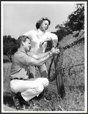 Terry Moore Ryan O'Neal Original 1962 TV Promo Photo Empire TV Series