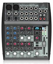 Behringer Xenyx 1002 FX Mischpult 10-Kanal Mixer FX-Prozessor Multieffektgerät