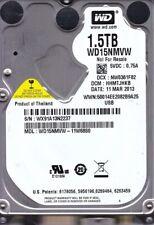 "Western Digital WD15NMVW-11W68S0 HHMTJHKB 2013 WX91A 1.5TB 2.5"" USB 3.0 B16-08"