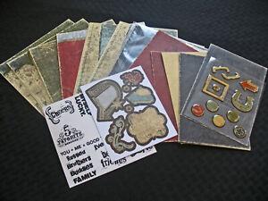Creative Memories Paper Album Kit Rugged Everyday Stickers Mats