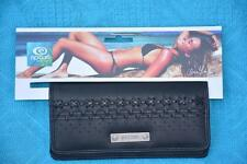 RIP CURL FLIP SIDE CHEQUEBOOK WALLET - Purse Black New. MULTI-POCKET rrp$35.99