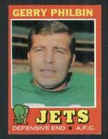 1971 Topps #98 Gerry Philbin NM/NM+ NY Jets 66009