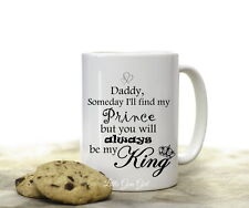 Dad Quote Coffee Mug from Daughter Fathers Day Father of Bride Coffee Cup Gift