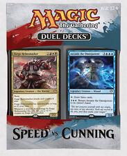 MAGIC - MTG - SPEED vs CUNNING DUEL DECKS  ENGLISH - ZURGO ARCANIS - NEW SEALED