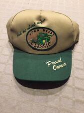 "NEVER WORN ""Ask Me About My "" John Deere Classic Proud Owner Green Tan Cap Hat"