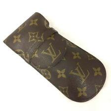 100% Authentic Louis Vuitton Monogram Etui a Lunettes Rabat Glasses Case/40514