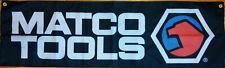 Matco Tools Flag Automotive Shop Garage Man Cave Mechanic Banner 58x17 inches
