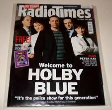 RADIO TIMES TV Magazine 5 May 2007  HOLBY BLUE Cover +  Free DOCTOR WHO Stickers