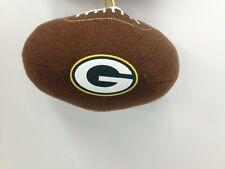 Green Bay Packers Team Plush Football Ornament #22236