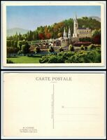 FRANCE Postcard - Lourdes, The Basilica BB