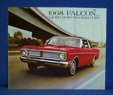 1968 Ford FALCON Automobile Color Sales Brochure - Original New Old Stock