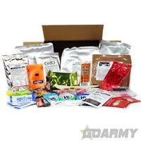 British Army Ration Box Menu 1 to 10