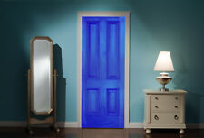Door Mural Front door Blue View Wall Stickers Decal Wallpaper 311