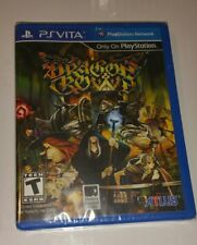 DRAGON'S CROWN PS Vita New Sealed US R1 Version Game Sony PlayStation PSV