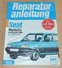 Seat  Marbella 850 und 900 ccm Motor ab Baujahr 1986 Reparaturanleitung B1170