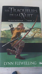 Lynn Flewelling - Nightrunner T02 : Les Traqueurs de la nuit - Bragelonne