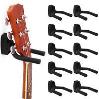 10xGancio Per Chitarra Con Gancio a Muro banjo/basso/mandolino e altri strumenti
