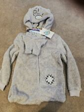 All In One Warm Pyjamas MY Dinky BEAR AGE 9-10 with Extra MINI Teddy Bear Outfit