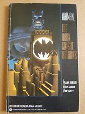 Batman The Dark Knight Returns TPB 1st edition 1st print Fine Frank Miller 1986