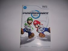 Instructions for Mario Kart Instruction Book Booklet Manual Nintendo Wii