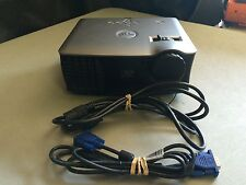 DELL 1800MP PORTABLE HD DLP PORTABLE PROJECTOR WORKS GREAT! NEW LAMP!!