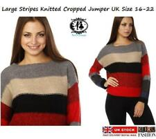 Check Long Sleeve Jumpers & Cardigans Plus Size for Women