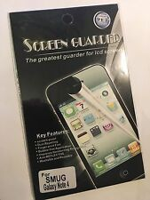 Screen Guard Protector in Clear for Samsung Galaxy Note 4 SCG6552 Brand New pack