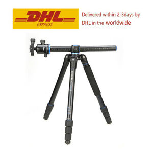 Benro GA268TB2 Tripod GoTravel 4-Section Aluminum Twist Lock Legs Tripod