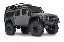 Traxxas 1:10 TRX-4 Land Rover Scale Crawler Silver RTR 82056-4 TRA82056-4SL