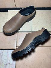 Men's Nevados Brown Leather Slip On Moc Casual Walking Shoe Sz 8M