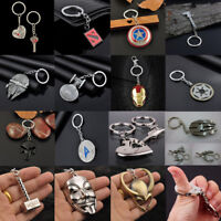 3D Silver Metal Car Key Chain Keyring Anime Figure Pendant Accessories Keychain