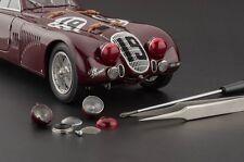 Alfa Romeo 8C 2900B, #19, 1938 Le Mans CMC in 1:18 Scale