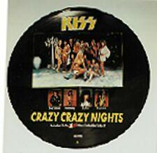 KISS PICTURE DISC - 12'' SINGLE - CRAZY CRAZY NIGHTS  -KISSP 712- UK 87 -L032101