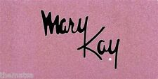 MARY KAY COSMETICS PINK USA MADE CAR  METAL LICENSE PLATE