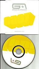 GROOVE ARMADA Easy 4TRX w/RARE MIXES & DUB & EDIT EUROPE made PROMO DJ CD single