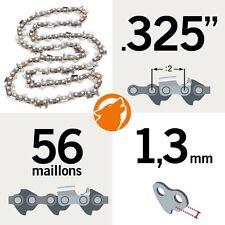 """Chaîne tronçonneuse KERWOOD 56 maillons 0,325"""" , 1,3mm"""