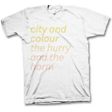 CITY & COLOUR - Hurry and the Harm T-shirt - NEW - LARGE ONLY