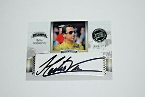 2012 Presspass Legends Helio Castroneves Auto Signed Autograph #89/250 Indy 500