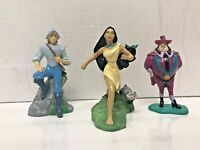 Disney Store Pocahontas 3 figures Used