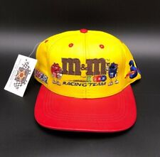 Ernie Irvan #36 M&M's Racing Team NASCAR JH Design Racing Hat Cap Leather New
