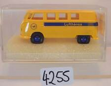 Brekina 1/87 Nr. 3194 Volkswagen Bulli VW T1b Bus Lufthansa OVP #4255