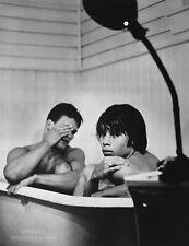 1985 BRUCE WEBER Vintage Photo Gravure Print 16X20 Male Nude Models in Bath