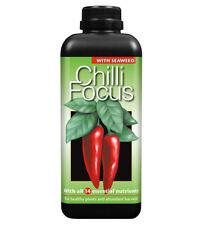 Chilli Focus 1 Litre Plant Food Liquid Nutrients Fertiliser Peppers Premium Feed