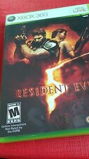Microsoft Xbox 360 Resident Evil Xbox Live Online interactions rated M**