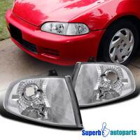 For 1992-1995 Honda Civic 2/3Dr Hatchback Corner Signal Lights